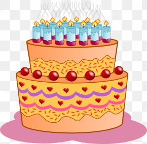 Picture Birthday Cakes - Birthday Cake Cupcake Clip Art PNG