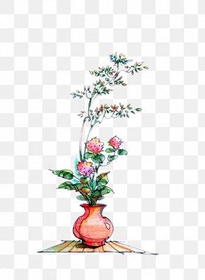 Hand-painted Floral Decoration - Floral Design Flower Euclidean Vector Illustration PNG