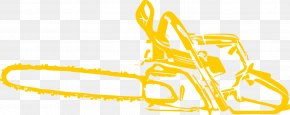 Chainsaw - Chainsaw Clip Art Tool Hand Saws PNG