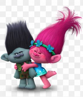 Trolls Branch And Poppy Transparent Image - King Peppy DJ Suki Biggie Poppy DreamWorks Animation PNG