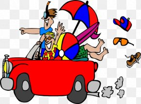 Animated Beach Pictures - Road Trip Travel Clip Art PNG