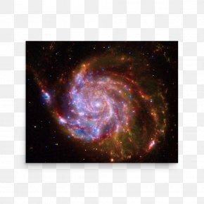 Galaxy - Chandra X-ray Observatory Pinwheel Galaxy Spiral Galaxy Interacting Galaxy PNG