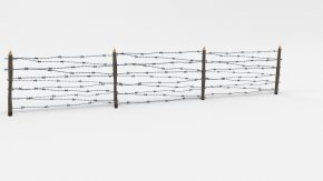 Barbwire - Wavefront .obj File 3D Modeling 3D Computer Graphics Barbed Wire TurboSquid PNG