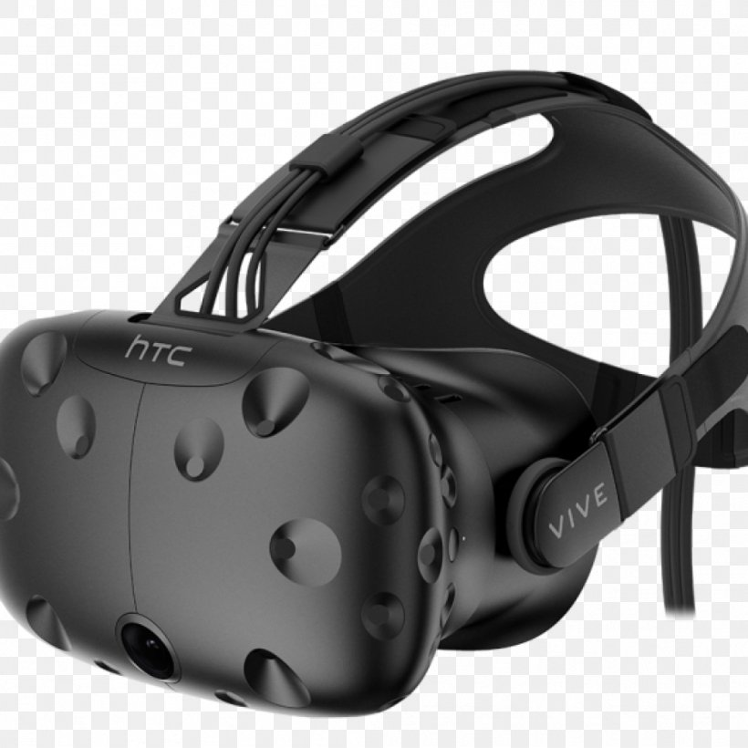 HTC Vive Virtual Reality Headset Oculus Rift PlayStation VR, PNG, 1038x1038px, Htc Vive, Black, Game Controllers, Hardware, Headgear Download Free