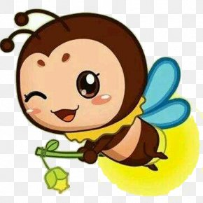 Fly The Fireflies - Flappy Firefly Bedtime Stories Light Firefly Cartoon PNG
