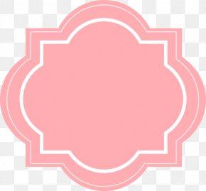 Blush Floral - Label Sticker Clip Art PNG