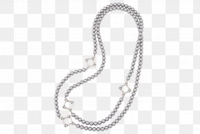 Pearl Necklace - Necklace Chain Jewellery Charms & Pendants Pearl PNG