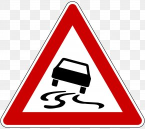 Traffic Signs - Traffic Sign Car Aquaplaning Driving Test Vehicle PNG