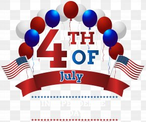 Happy Independence Day 4th July Clip Art Image - United States Independence Day Clip Art PNG