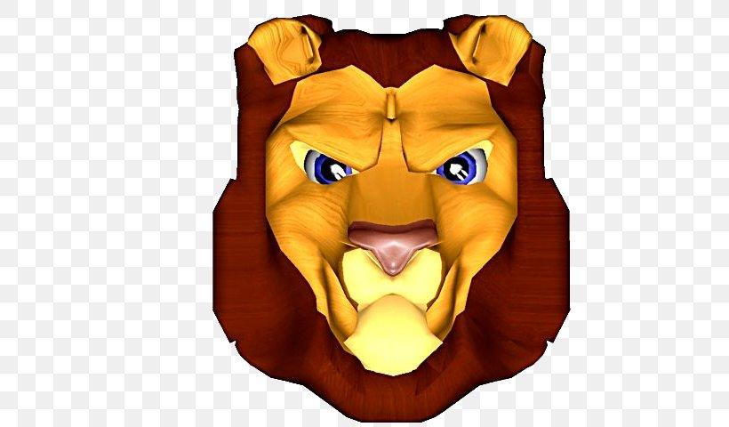 Lionhead Rabbit Lions Head Cartoon, PNG, 640x480px, 3d Computer Graphics, Lion, Big Cats, Carnivoran, Cartoon Download Free