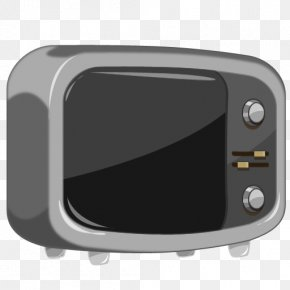 Old Black TV - Radio Button PNG