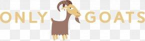 Cool Goat Cart - Goat Livestock Logo Horse Mammal PNG