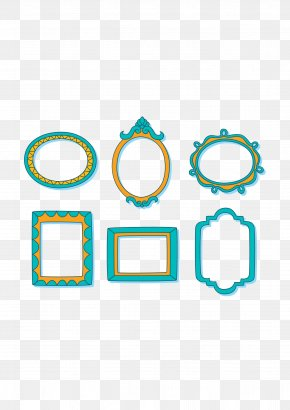 Baby Blue Photo Frame - Picture Frame Digital Photo Frame PNG