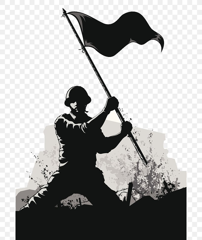 Soldier Army Euclidean Vector, PNG, 696x973px, Soldier, Army, Art, Black And White, Military Download Free