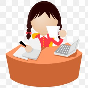 Work Picture - Secretary Office Clip Art PNG