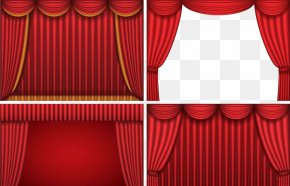 Red Curtains - Theater Drapes And Stage Curtains Theater Drapes And Stage Curtains Theatre PNG