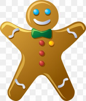 Creative Cookie - Waffle Cookie Biscuit Gingerbread Man PNG