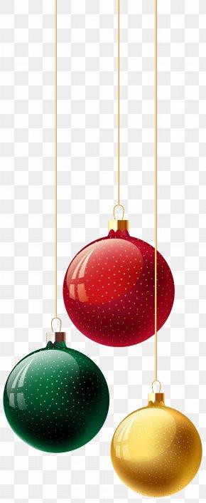 Christmas Balls Transparent Image - Christmas Ornament Design Product PNG