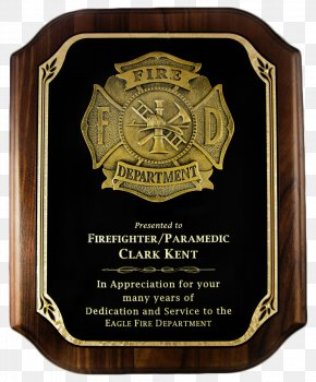 Plaque - Sheriff Police Officer Badge Commemorative Plaque PNG
