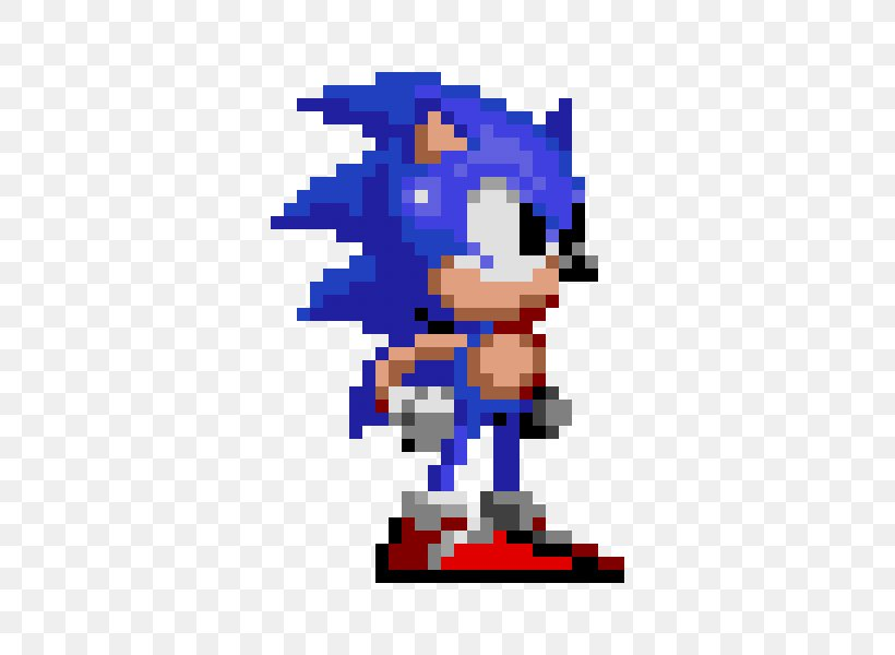 Sonic Mania Pixel Art Image Drawing Png 600x600px Sonic