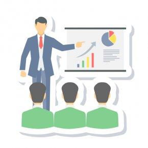 Business Presentation Cliparts - Businessperson Presentation Clip Art PNG
