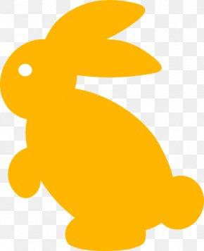 Rabbit Clip Art - Easter Bunny Silhouette Rabbit Clip Art PNG