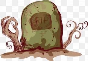 Punk Wind Cemetery - Halloween Adobe Illustrator PNG