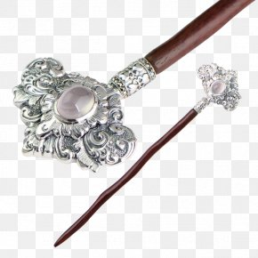 Classical Woman With Hairpin - Hairpin Hair Stick Woman PNG