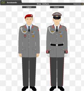 Artillery - Dress Uniform Bundeswehr Military Uniform Army Combat Uniform PNG