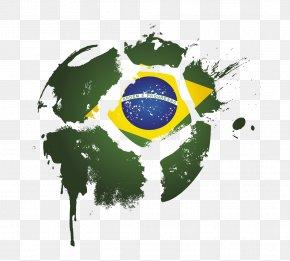 Football - Brazil National Football Team Logo PNG
