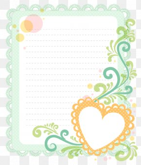 Heart-shaped Lace Border - Euclidean Vector PNG