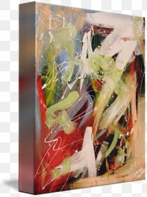 Extra Terrestrial - Floral Design Watercolor Painting Modern Art Acrylic Paint Still Life PNG