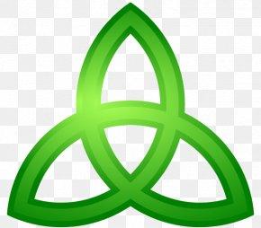 Trinity Shamrock Cliparts - Triquetra Celtic Knot Trinity Celts Clip Art PNG
