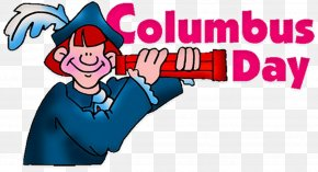 Columbus Banner - United States Of America Columbus Day Holiday Clip Art Washington's Birthday PNG