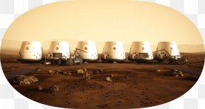 Earth - Mars One Earth Colonization Of Mars Planet PNG