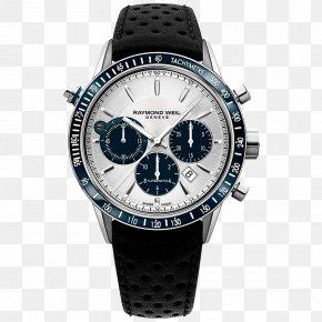Watch - Raymond Weil Chronograph Automatic Watch Movement PNG