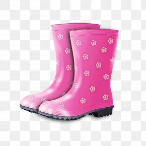 Snow Boot Durango Boot - Footwear Boot Pink Shoe Rain Boot PNG