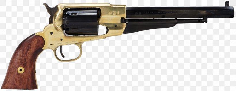 Remington Model 1858 Colt 1851 Navy Revolver Remington Arms Firearm, PNG, 1800x695px, 44 Magnum, Remington Model 1858, Air Gun, Ammunition, Black Powder Download Free