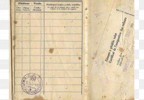 Passport - Second World War Passport Travel Document The Holocaust PNG