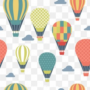 Vector Hot Air Balloon - Hot Air Balloon Clip Art PNG