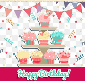 Cartoon Birthday Cake Clipart - Birthday Cake Torta PNG