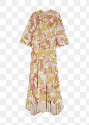 Memorial Weekend - Robe Sleeve Dress Peach PNG
