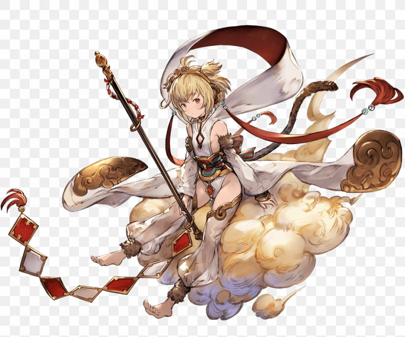 Granblue Fantasy Video Game Character Concept Art Png