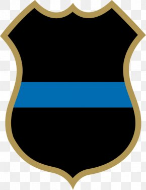 Law Enforcement - Police Officer Badge Law Enforcement Thin Blue Line PNG