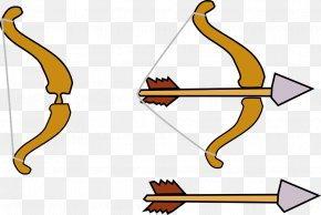 Ancient Legend Bow Arrow - Bow And Arrow Archery Clip Art PNG