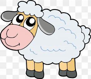 Cute Sheep - Cartoon Sheep PNG