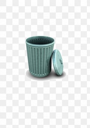 Trash Can - Waste Container Recycling Bin Icon PNG