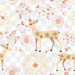 Deer - Deer Sticker Wall Decal PNG