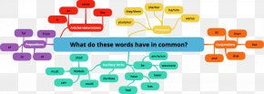 Word - Syllable Word Mind Map Poetry Foot PNG