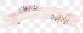 Art Flowers Border - Flower Watercolor Painting Picture Frame PNG